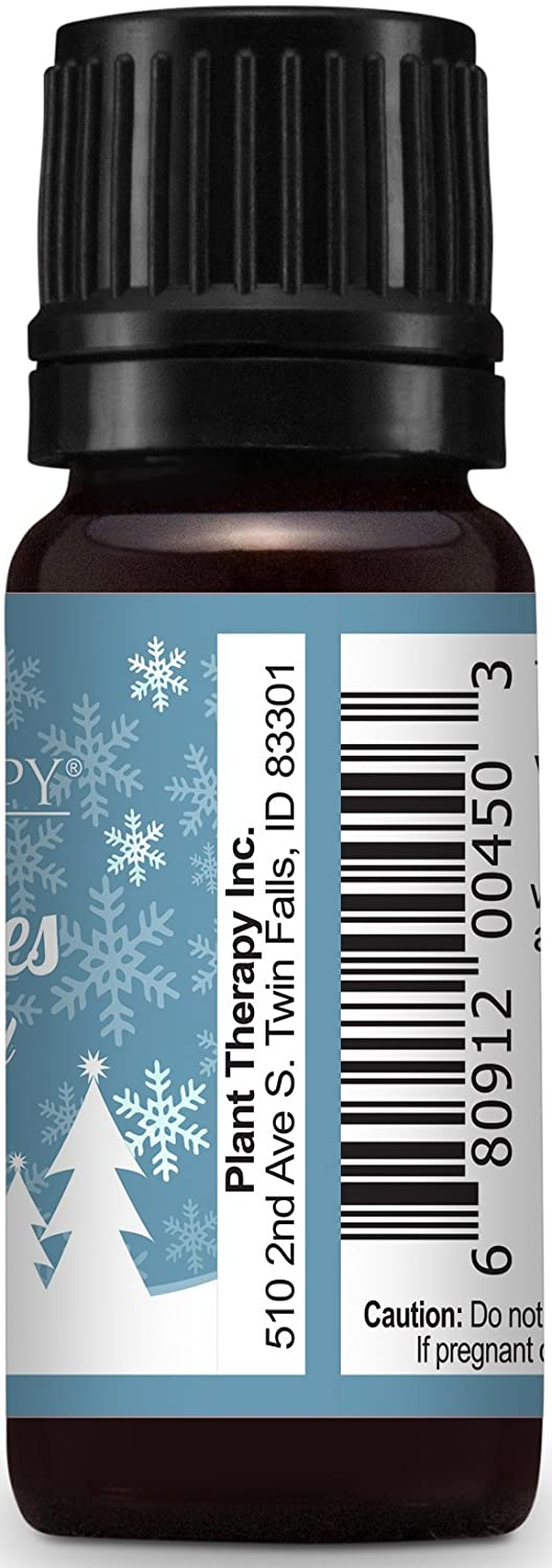 Amazon.com : Plant Therapy Snow Flurries Holiday Synergy Essential ...