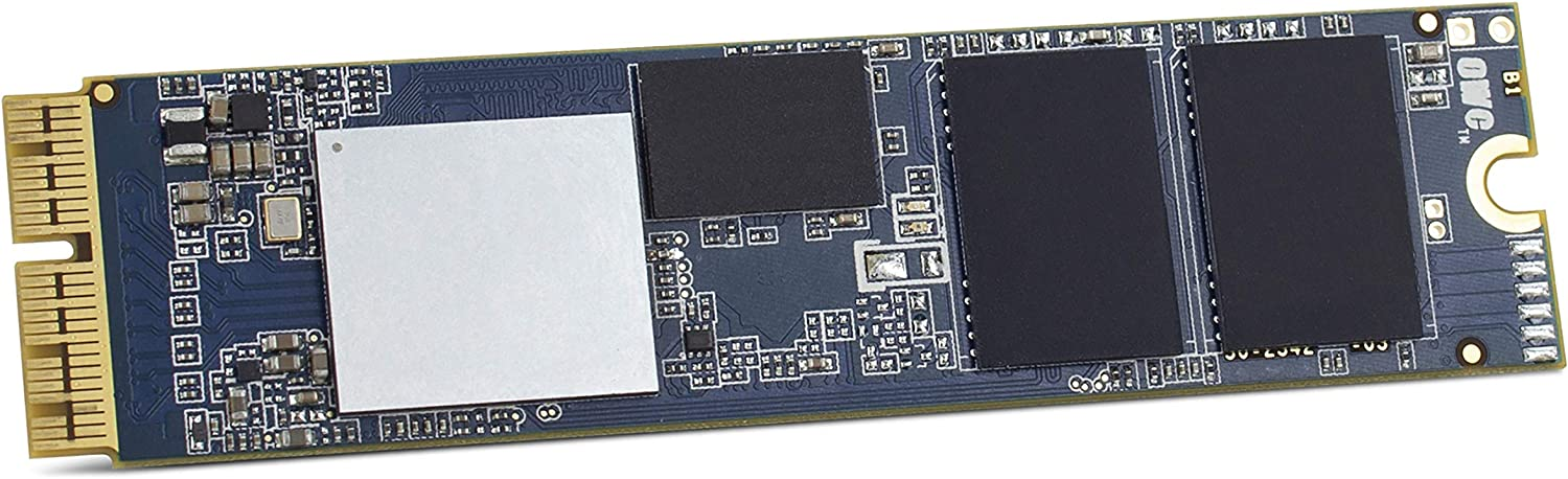 OWC 240GB Aura Pro X2 SSD for MacBook Air (Mid 2013-2017), and MacBook Pro (Retina, Late 2013 - Mid 2015) Computers (OWCS3DAPT4MB02)
