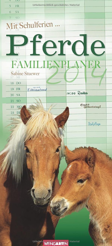 Pferde Familienplaner 2014