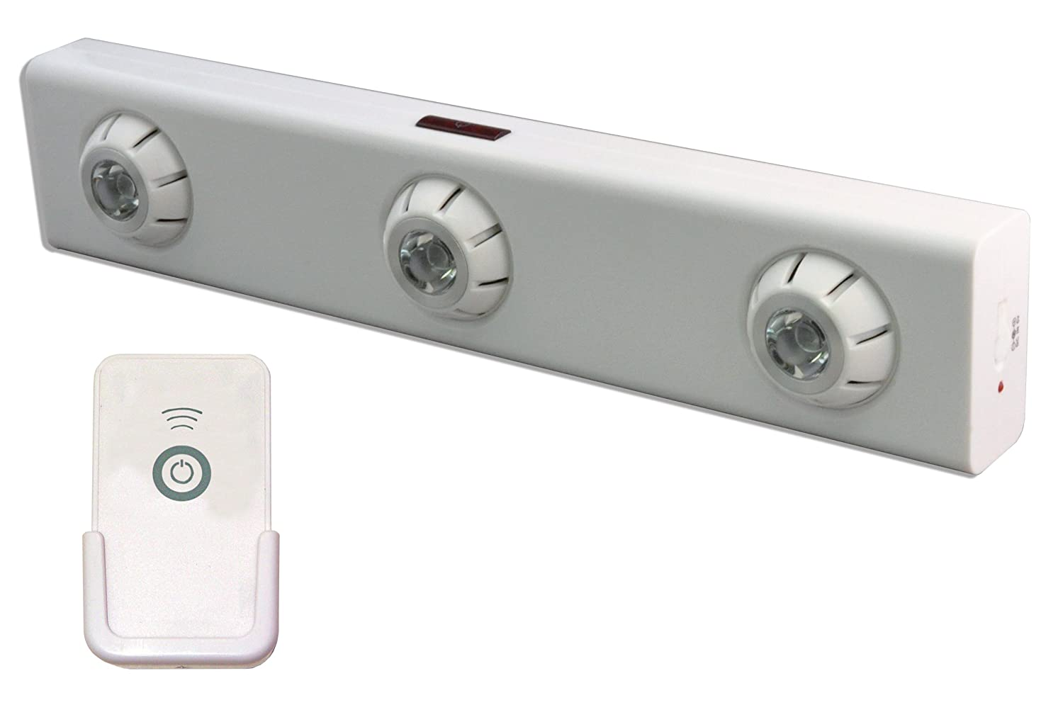 Rite Lite LPL1700WRCAC High Output LED Under Cabinet Light with Remote, 2.5 x 1.25 x 11.8 , White
