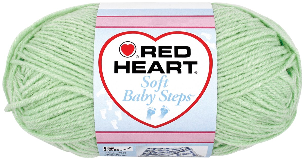 Coats: Yarn Red Heart E746.9937 Soft Baby Steps Yarn, Giggle Coats Yarn
