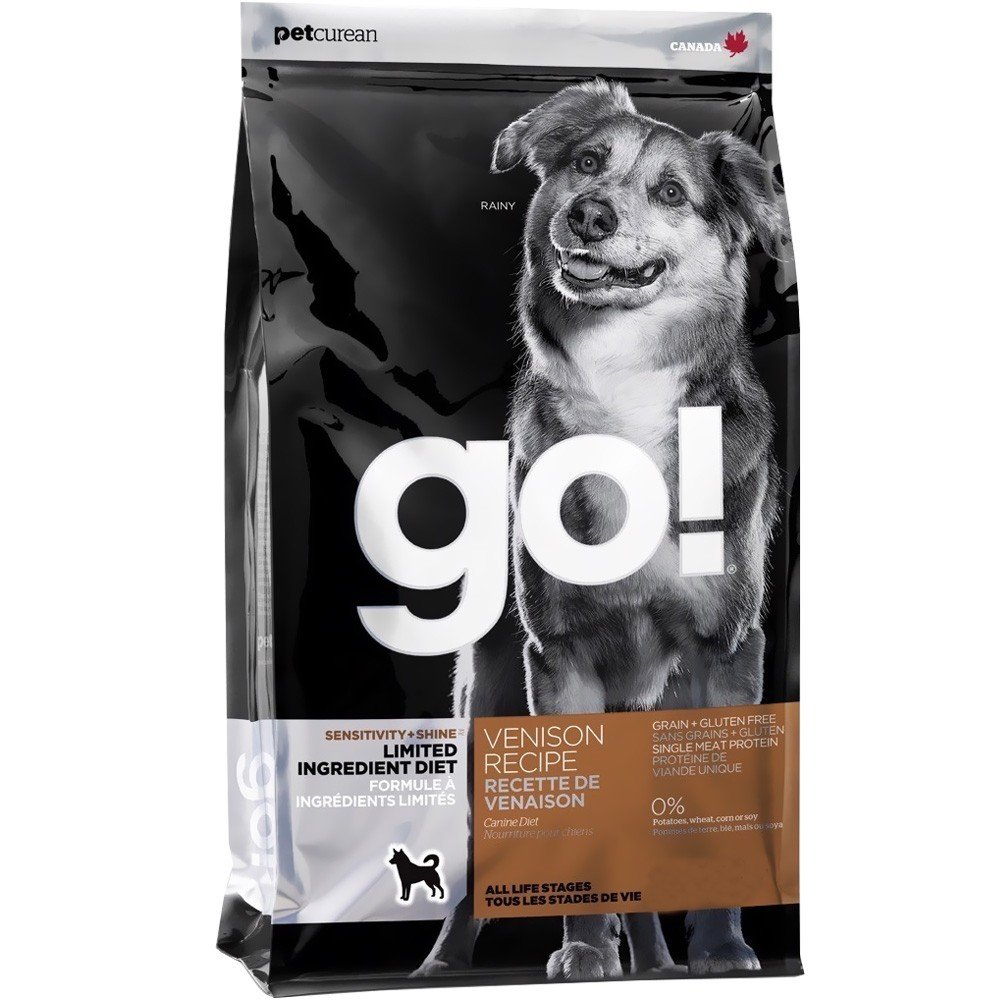 Go! Sensitivity + Shine Venison Recipe Dog Food - 25lb