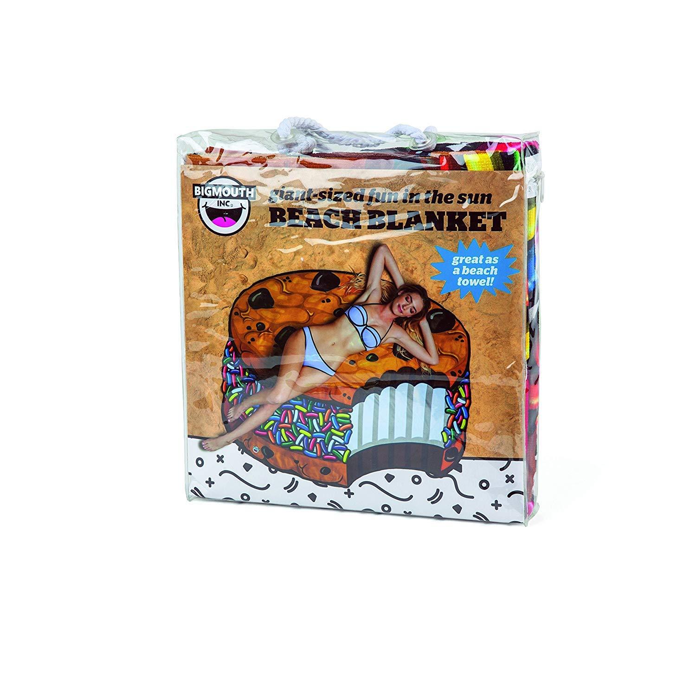 BigMouth Inc - Toalla Playa Galetta Helado Bollito Bizcochito Cookie Gigante - XXL Redonda Bano Alfombra: Amazon.es: Juguetes y juegos