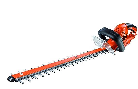 Black+Decker GT5560-QS Cortasetos (550 W) con Longitud de Espada de 60 cm y 25 mm de separación Entre Dientes: Amazon.es: Bricolaje y herramientas