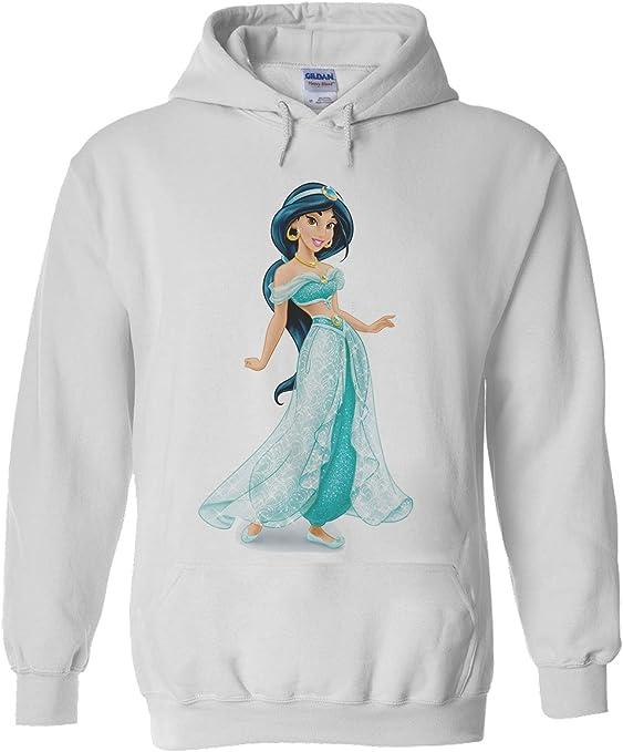 NisabellaLTD Little Mermaid Ariel Princess White Men Women Unisex Hooded Sweatshirt Hoodie