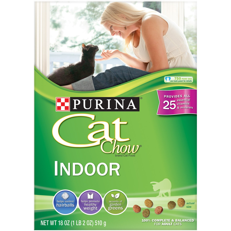 Amazon Purina Cat Chow Dry Cat Food Indoor Formula 18