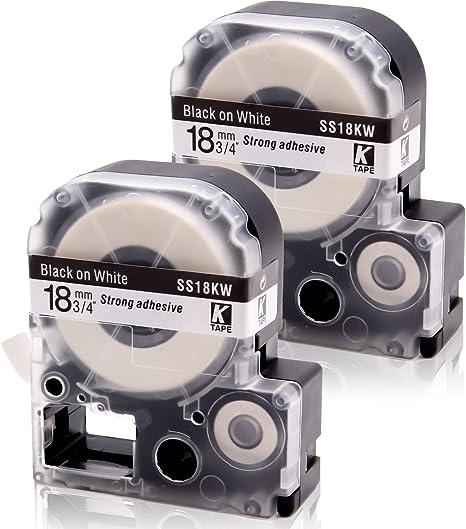 Amazon.com: absonic cinta de cassette Repuestos para Epson ...