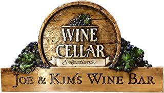 product image for Piazza Pisano Wine Selections Personalized Plaque Door Topper