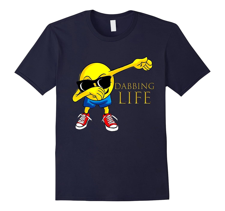 COOL: Dabbing Emoji Costume Shirt For Adults Unisex Gift-FL