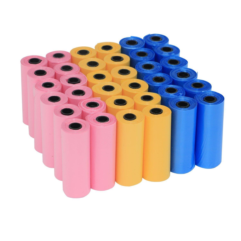 Yommy 360 Bolsas para Excrementos de Perro Poop Bag 24 Rollos YM-0281C