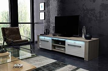 Manhattan 160 Waschtisch Tv Design Farben Eiche Sonoma Mit Weiß