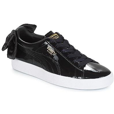 cheaper 887e7 3946e Puma Basket Bow Patent WN's 36811801, Trainers Black: Amazon ...
