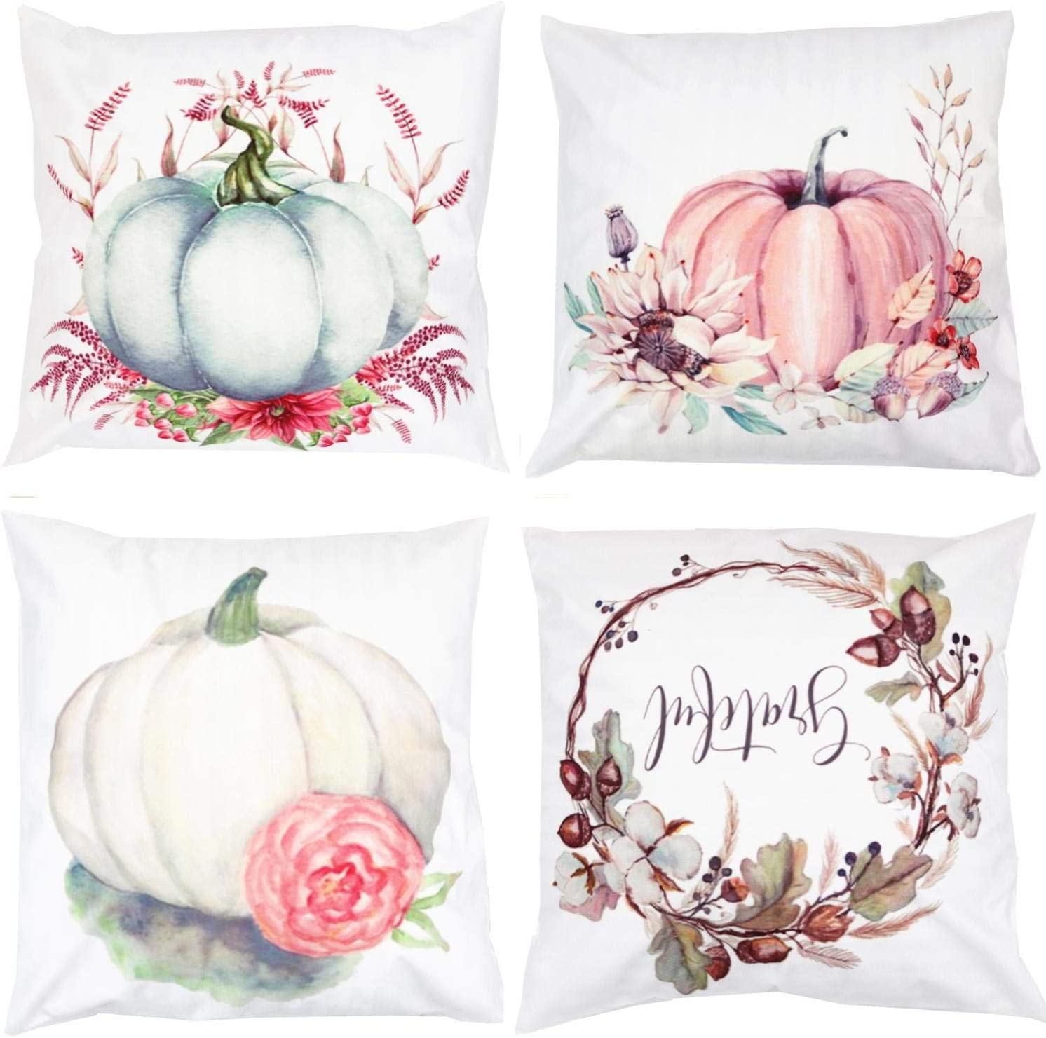 Free Amazon Promo Code 2020 for Autumn Pumpkin Thanksgiving Decorative Throw Pillow
