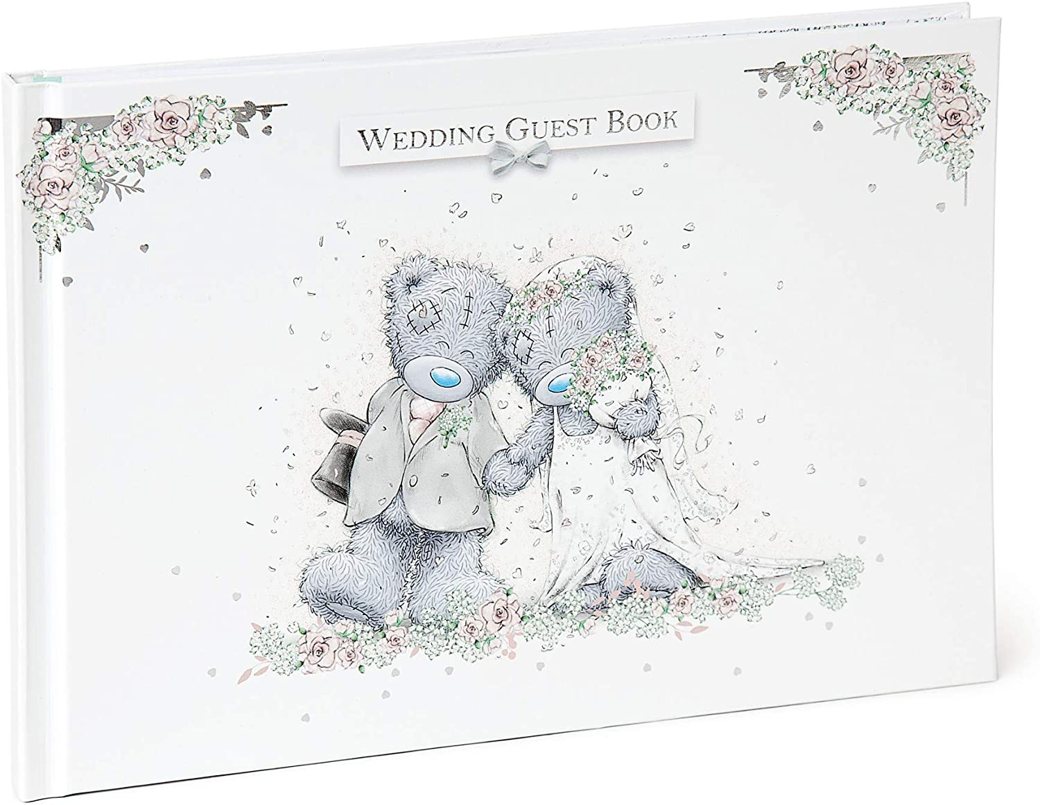 ME TO YOU BEAR//TATTY TEDDY ON YOUR SILVER ANNIVERSARY FRAME