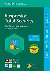 Kaspersky Total Seguridad 20183Dispositivo/1año [Código de tecla] (3-users)
