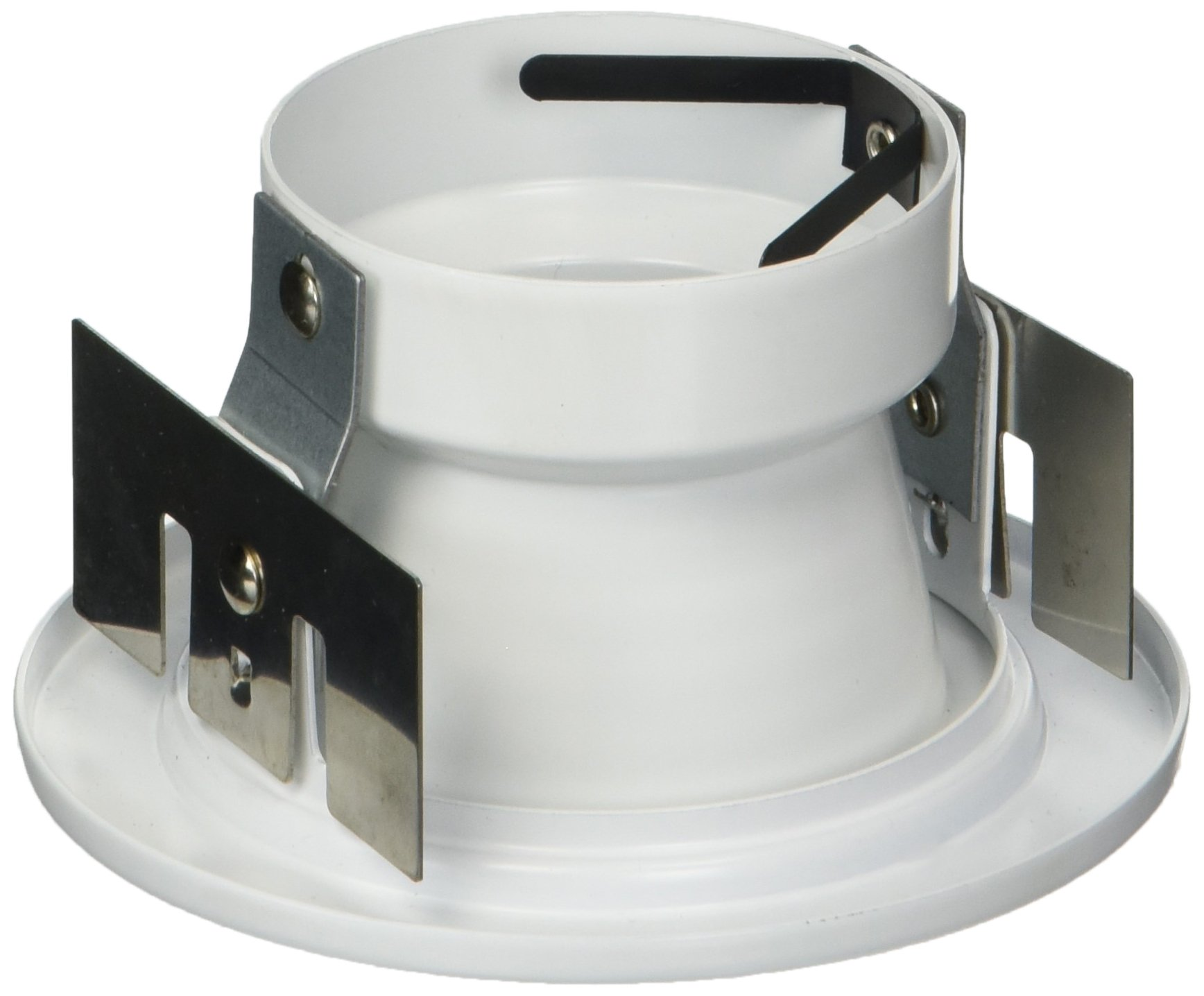 WAC Lighting HR-834-WT/WT Recessed Low Voltage Trim Step Baffle