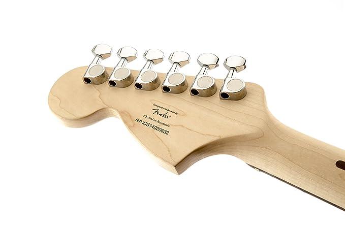 Squier Standard Strat ATB/TORT · Guitarra eléctrica: Amazon.es: Instrumentos musicales