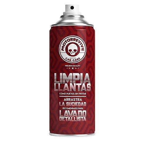 Motorrevive - Limpia Llantas Coche y Moto Profesional, PH Neutro - 400 ml