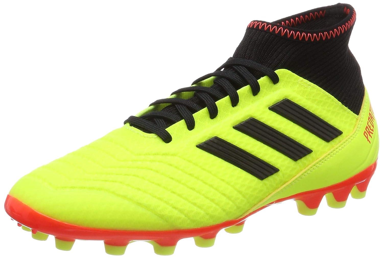 Adidas Herren Protator 18.3 Ag Fußballschuhe, Weiß Schwarz Rot, 40 2 3 EU  | Ein Gleichgewicht zwischen Zähigkeit und Härte