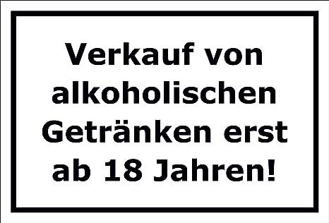 Cartel - Venta de las Bebidas Alcohólicas a partir de 18 ...