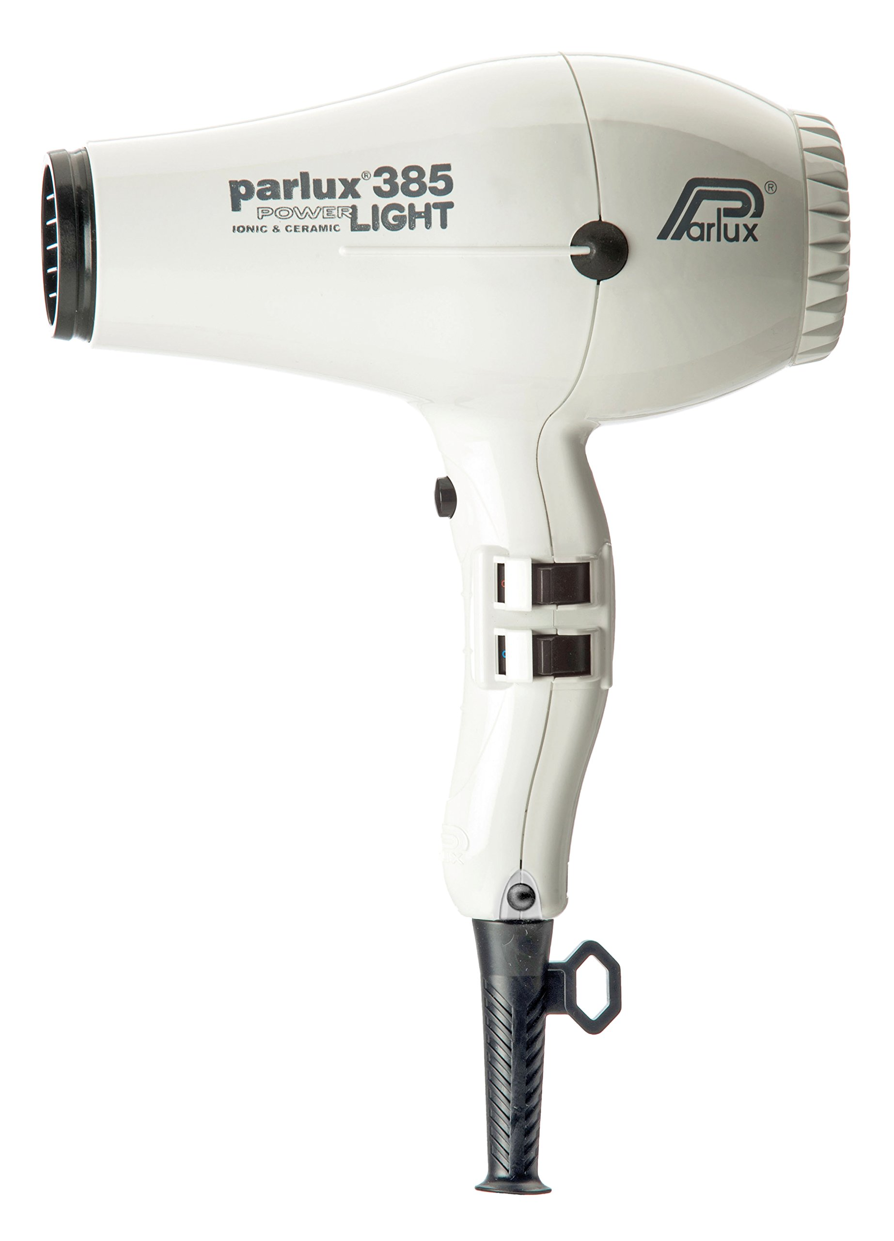 Parlux 385 Powerlight Professional Ionic and Ceramic Hair Dryer White