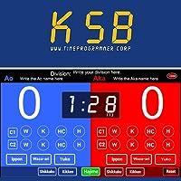 Karate Scoreboard for Kumite TP