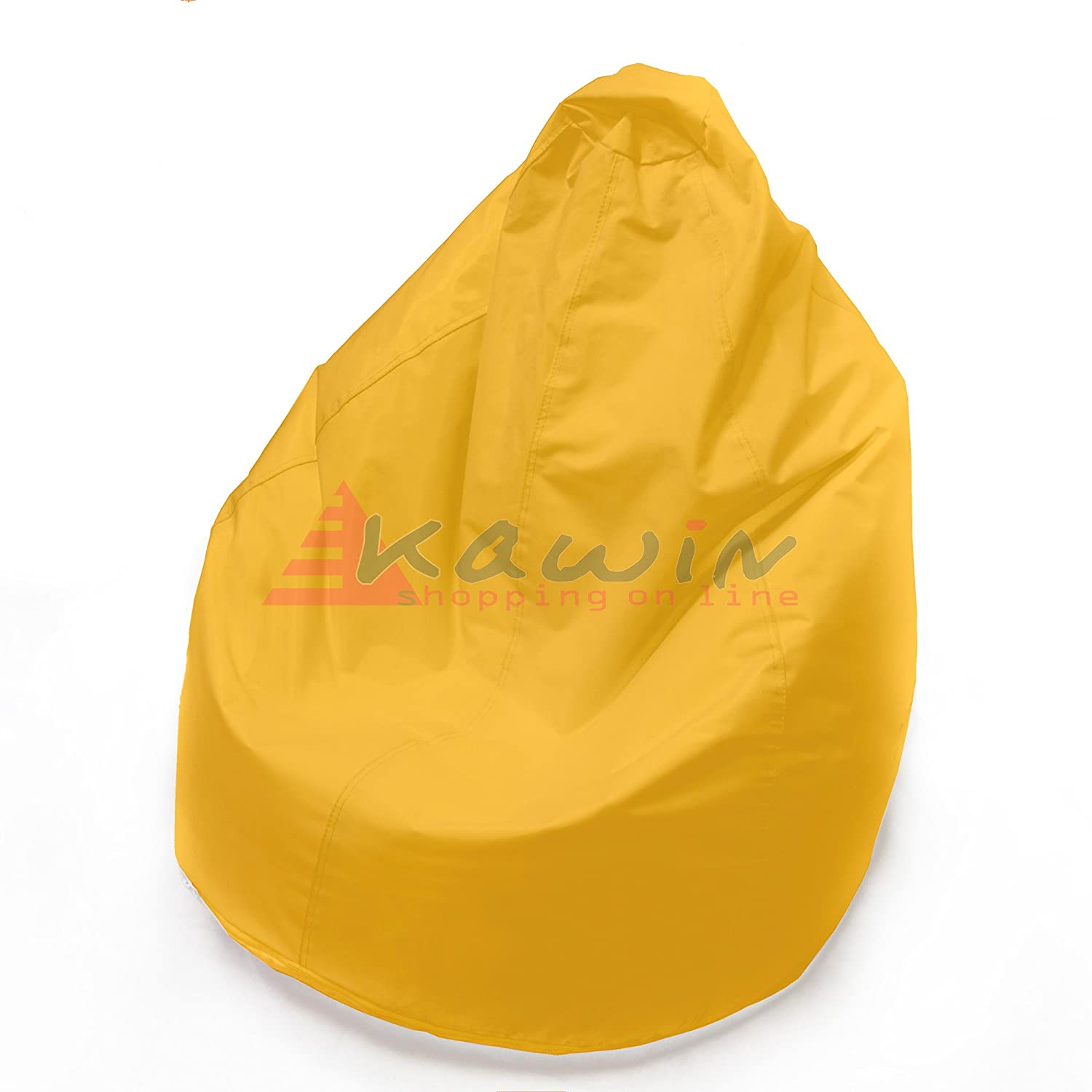 KAWIN Shopping on line Pouf Poltrona pera puff SACCO puf - GIALLO