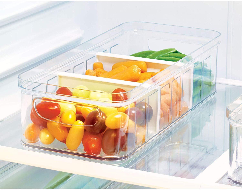 iDesign frigorífico, Caja de plástico Libre de BPA Grande ...