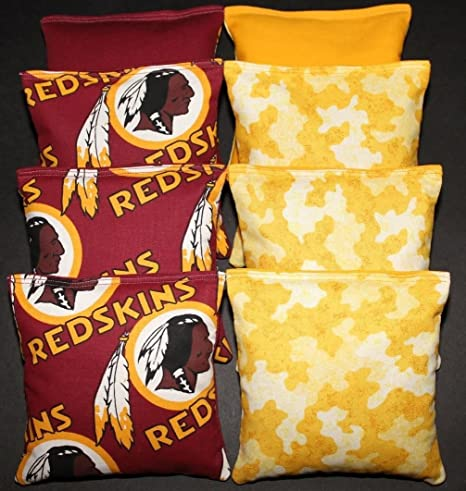 Swell Amazon Com Cornhole Bean Bags W Washington Redskins Camo Uwap Interior Chair Design Uwaporg
