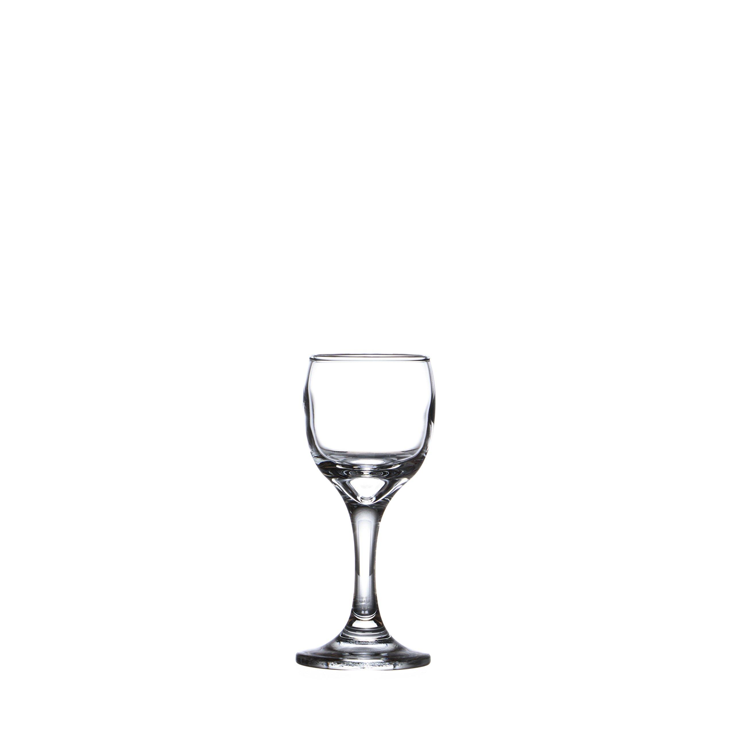 BISTRO Pasabache Liqueur Glass/Sherry Shot, 2 oz./60 ml. (6-piece, 12-piece) (12)