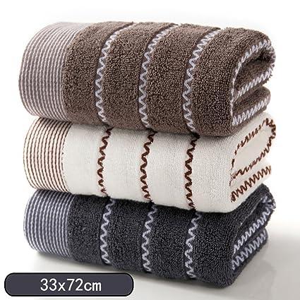 Toallas CHENGYI Absorbente Suave más Gruesa del algodón casero Mayor Pura del hogar Adulto (3
