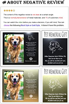 dog loss gifts pet memorials pet loss gifts 4 x 6 personalized pet frames