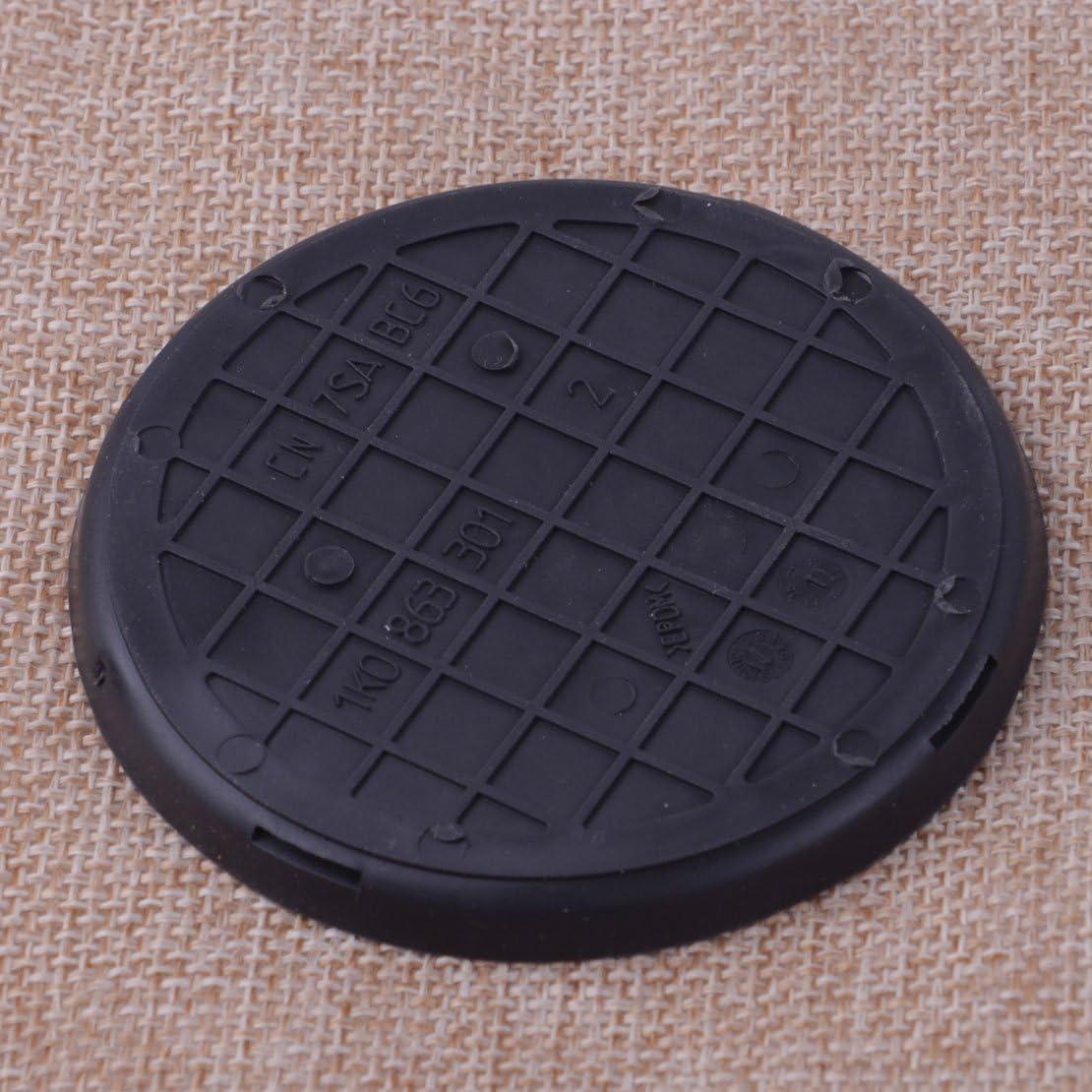 CITALL Black Rubber Water Cup Insert Holder Mat Pad