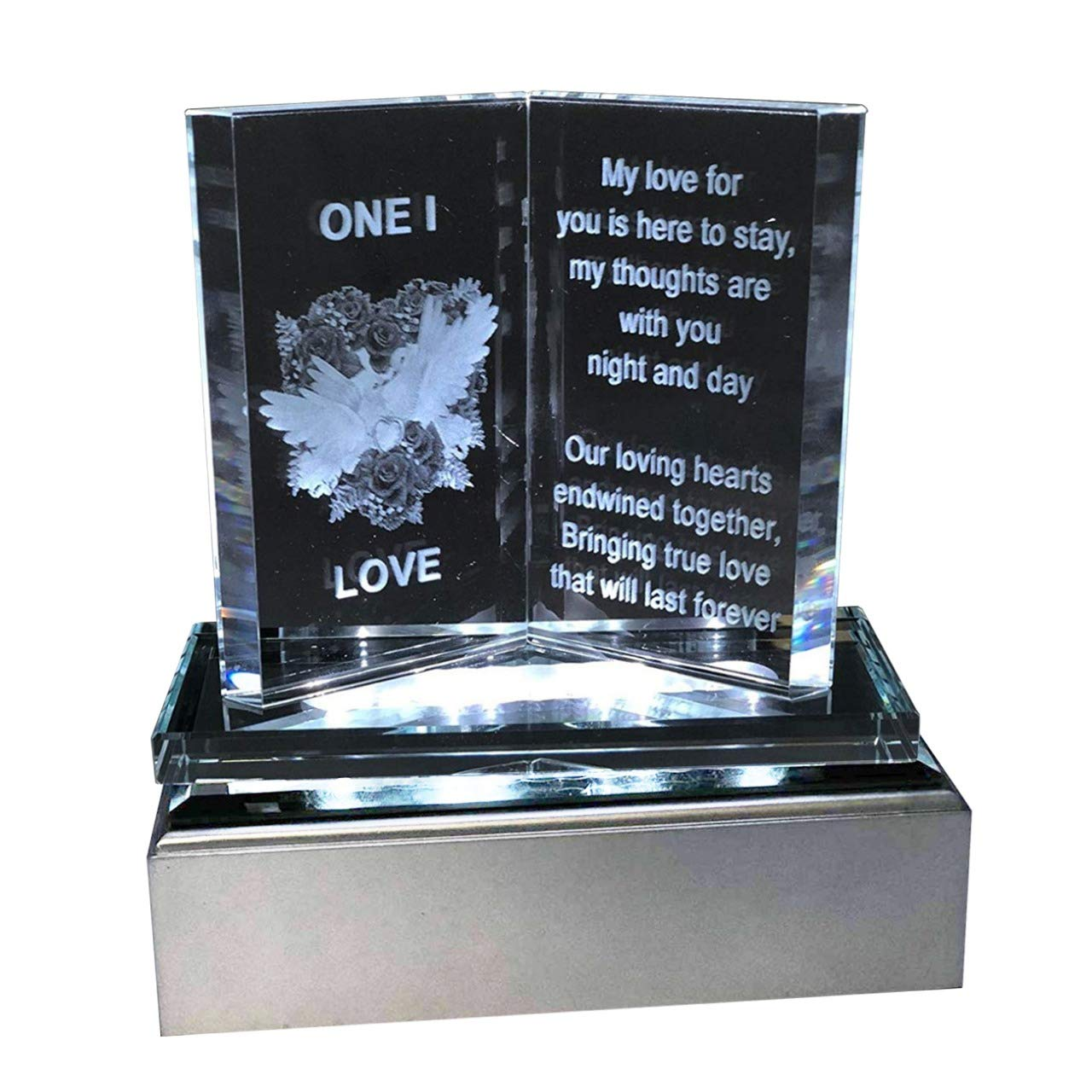 SAFRI Led Lights One I Love Gift Ideal For Girlfriend Boyfriend Husband Wife Her Him Fiance