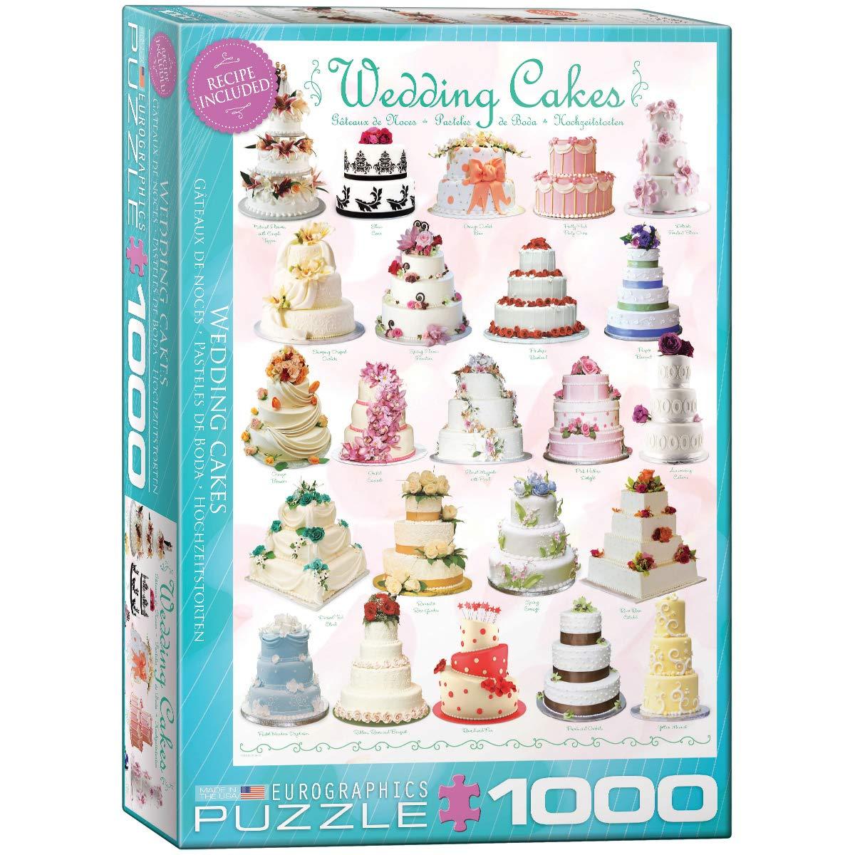 Eurographics Wedding Cakes 1000-Piece Puzzle