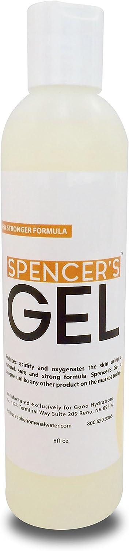 Spencer's Gel Alkaline Formula (8oz) - lab-Certified to Kill Staph aureus on Skin Contact