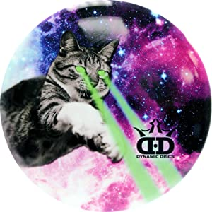 Dynamic Discs DyeMax Laser Kitty | Disc Golf Disc | Frisbee Golf Disc | 170 Grams and Above | Disc Golf Putter | Disc Golf Midrange | Disc Golf Driver
