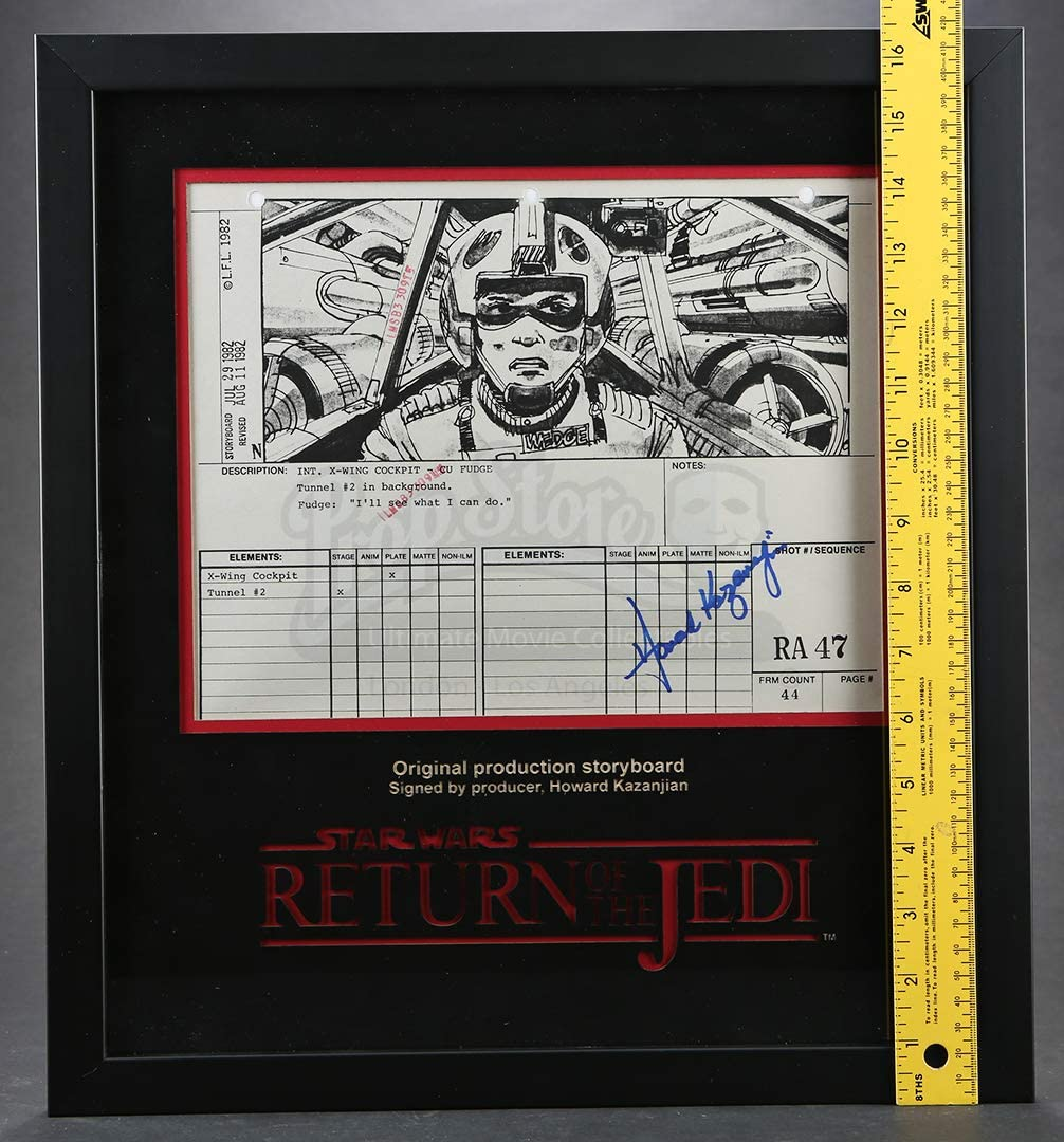 Star Wars Ep Vi Return Of The Jedi Signed Production