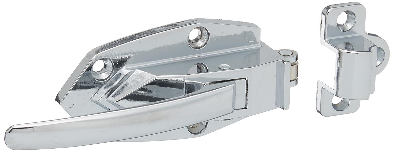 Industrial Lab Oven Door Latch Releasing Pull Handle Silver Tone