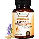 Adrenal Support & Cortisol Support 1300mg - Extra Strength Stress Support & Adrenal Support Supplement with Ashwagandha, Lico
