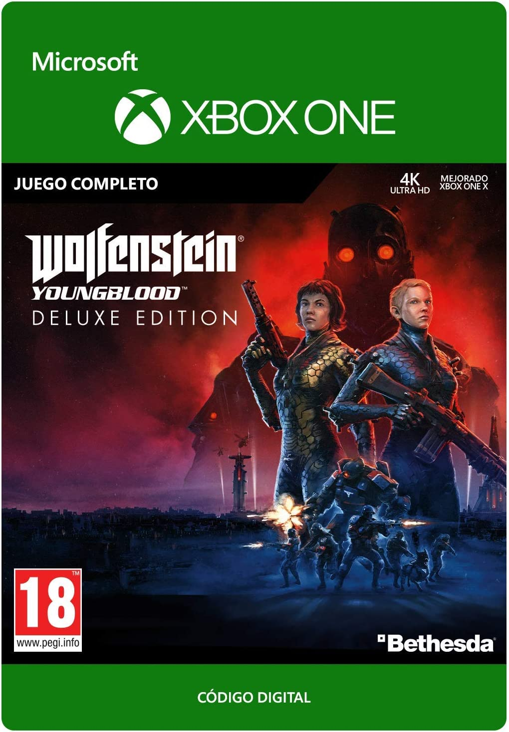 Wolfenstein: Youngblood - Deluxe Edition | Xbox One - Código de ...