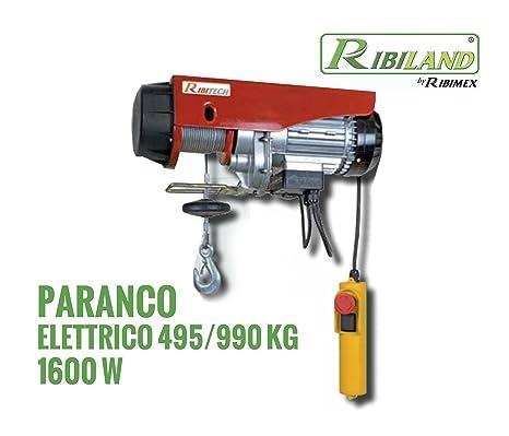 Nouveaux produits variété de dessins et de couleurs style distinctif Ribitech - palan électrique moufle 495/990 kg: Amazon.fr ...