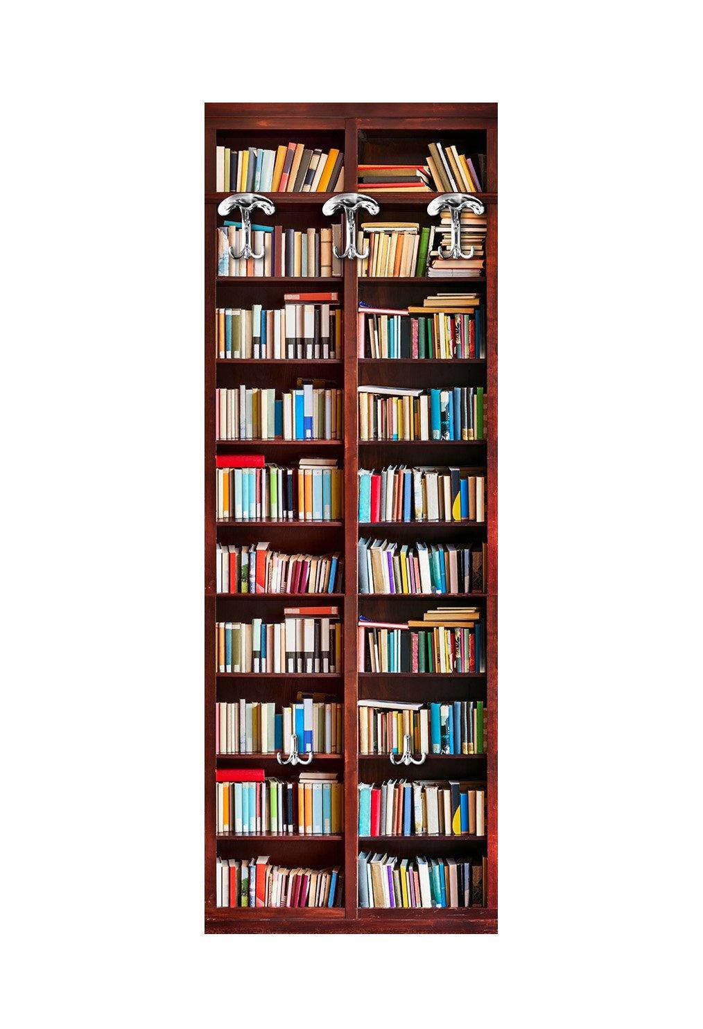 Viscio Trading 181951 Wandgarderobe, Holz, mehrfarbig, mehrfarbig, mehrfarbig, 49 x 6 x 139 cm fd83b8