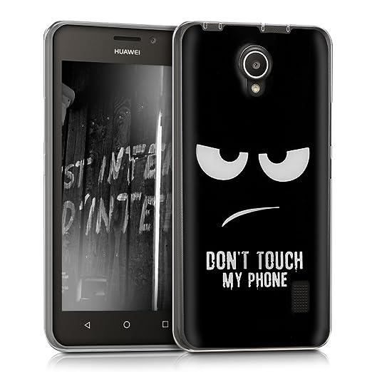 47 opinioni per kwmobile Cover per Huawei Ascend Y635- Custodia in silicone TPU- Back case