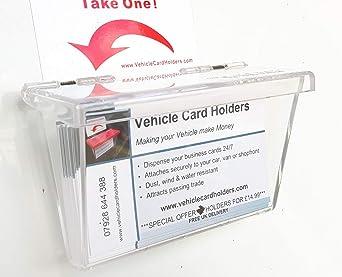 Outdoor Vehicle Business Card Holder Box Amazon Clothing