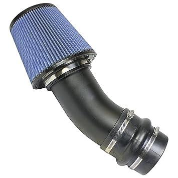 BD Diesel 1045246 pista Master ingesta kit incluye 5 en. Turbo Tubo De Admisión/Filtro lavable/acoplador/abrazaderas de pista Master Kit de Admisión: ...