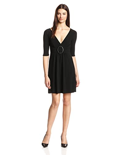 Star Vixen Women's Elbow-Sleeve O-Ring Dress