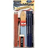 SketchMate Graphite & Charcoal Drawing Kit & Accessories