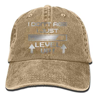 artyly I Dont Age I Just Level Up - Gorro de béisbol para Hombre ...