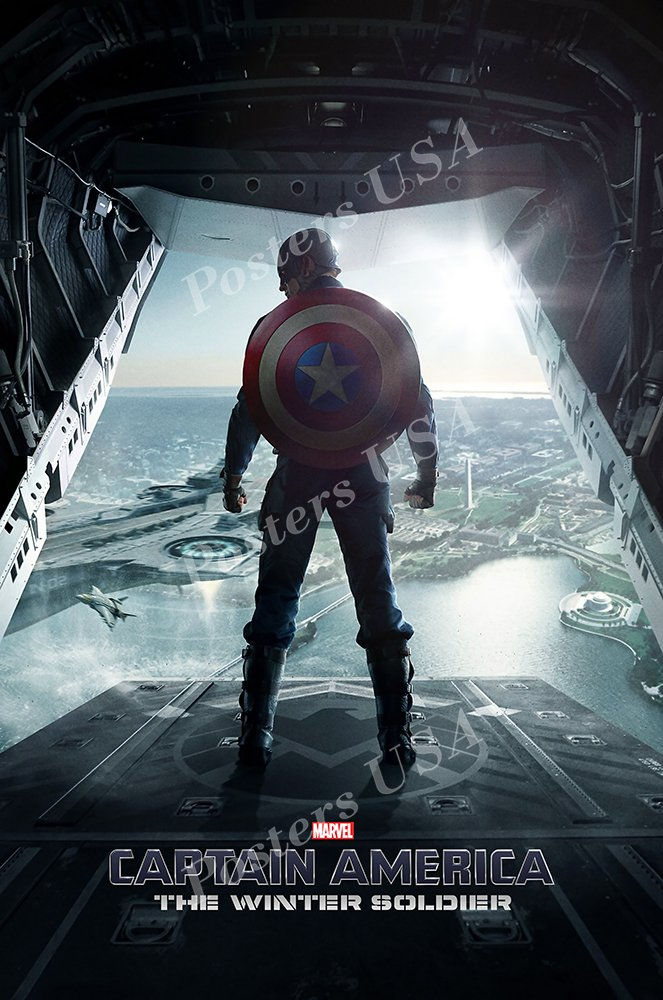 Posters USA Marvel Captain America The Winter Soldier Movie Poster GLOSSY FINISH - FIL270 (24'' x 36'' (61cm x 91.5cm))